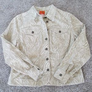 Womens Jacket Hearts of Palm Size 8